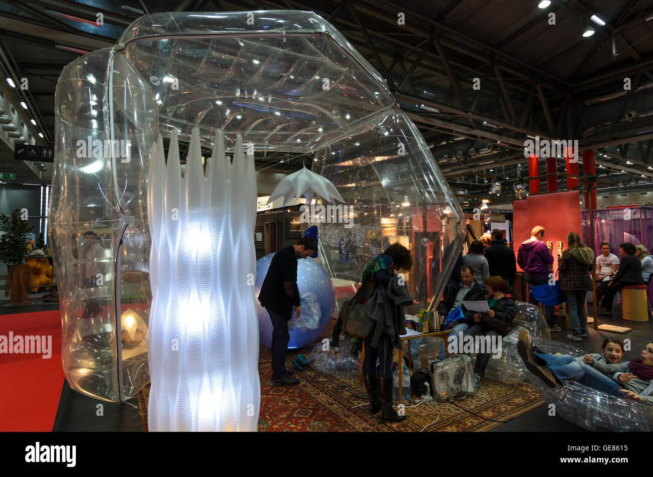 Wien, Viena: Feria ' Vida & Interieur ' en Messe Wien, Austria, Wien, 02. Foto de stock