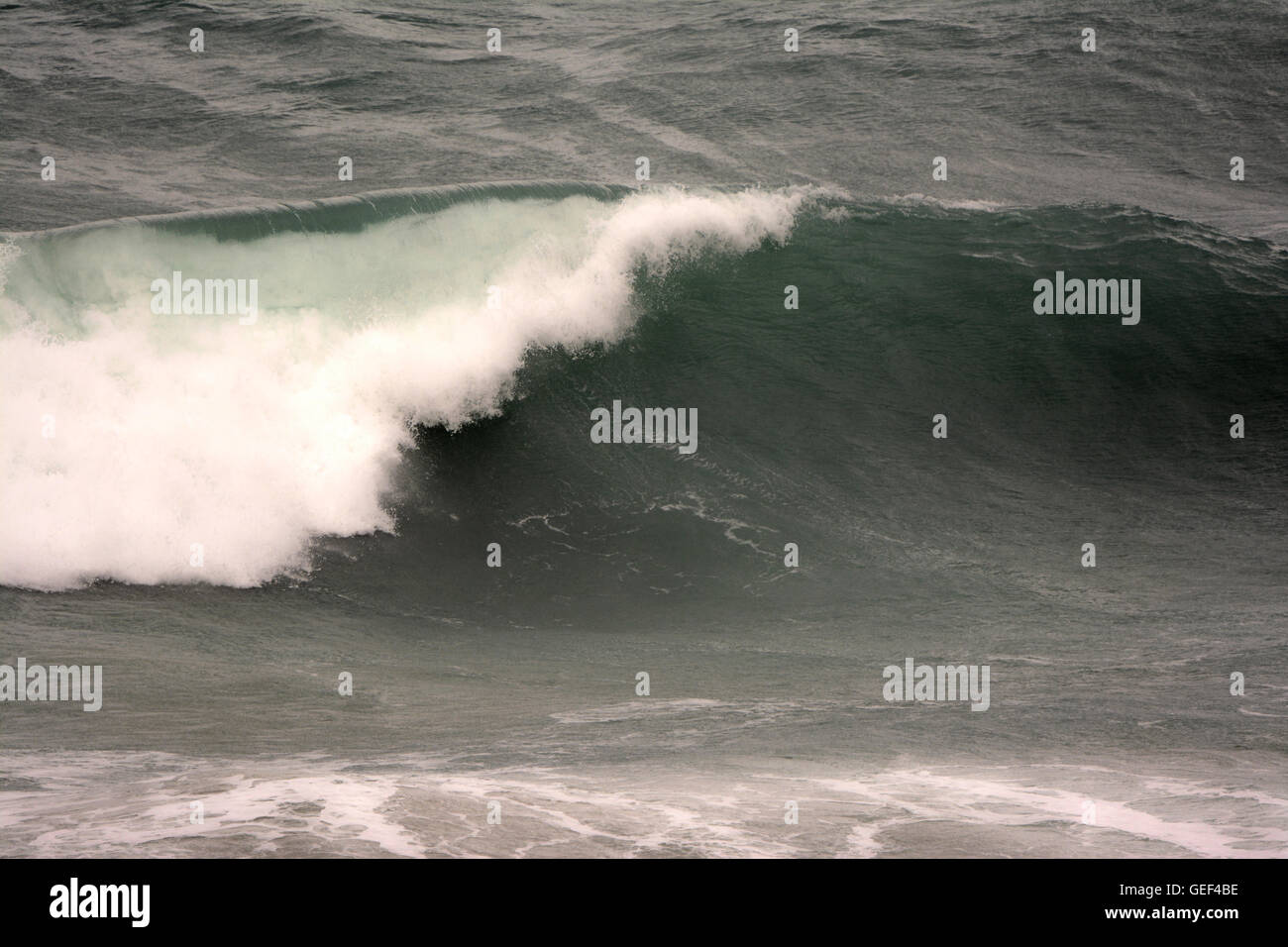 Rompiendo olas Imagen De Stock