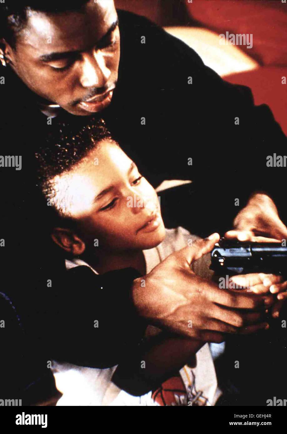 Amenaza Ii Sociedad 1993 Tyrin Turner Imágenes De Stock
