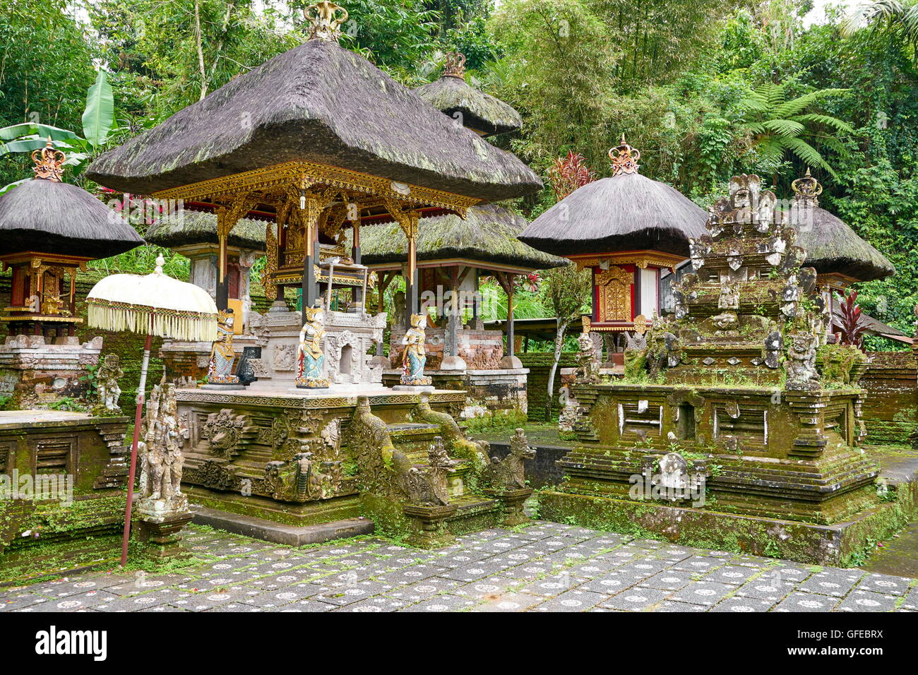 Pura Templo Gunung Kawi, Bali, Indonesia Imagen De Stock