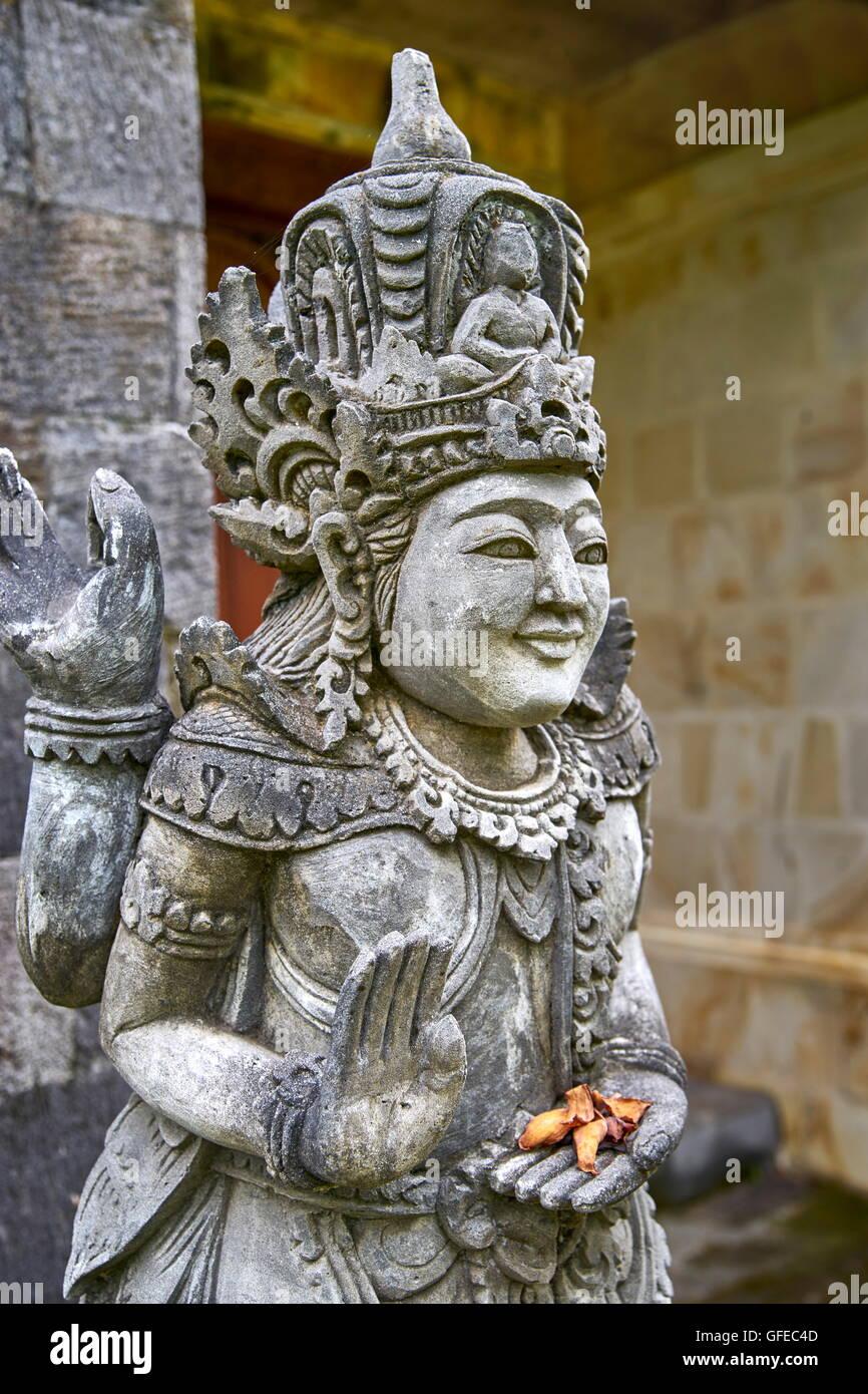 Estatua de piedra, Bali, Indonesia Imagen De Stock