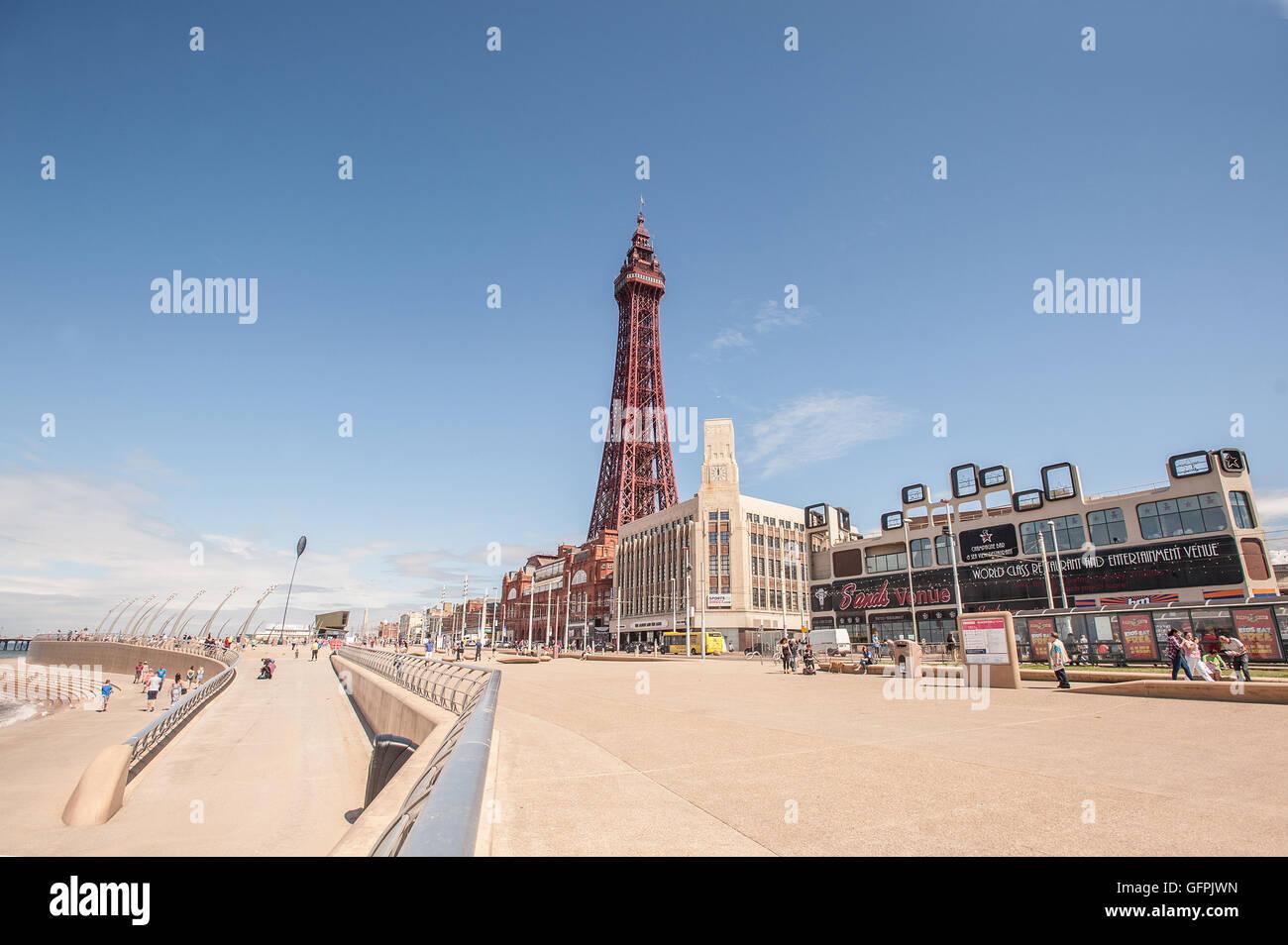 Torre de Blackpool Imagen De Stock