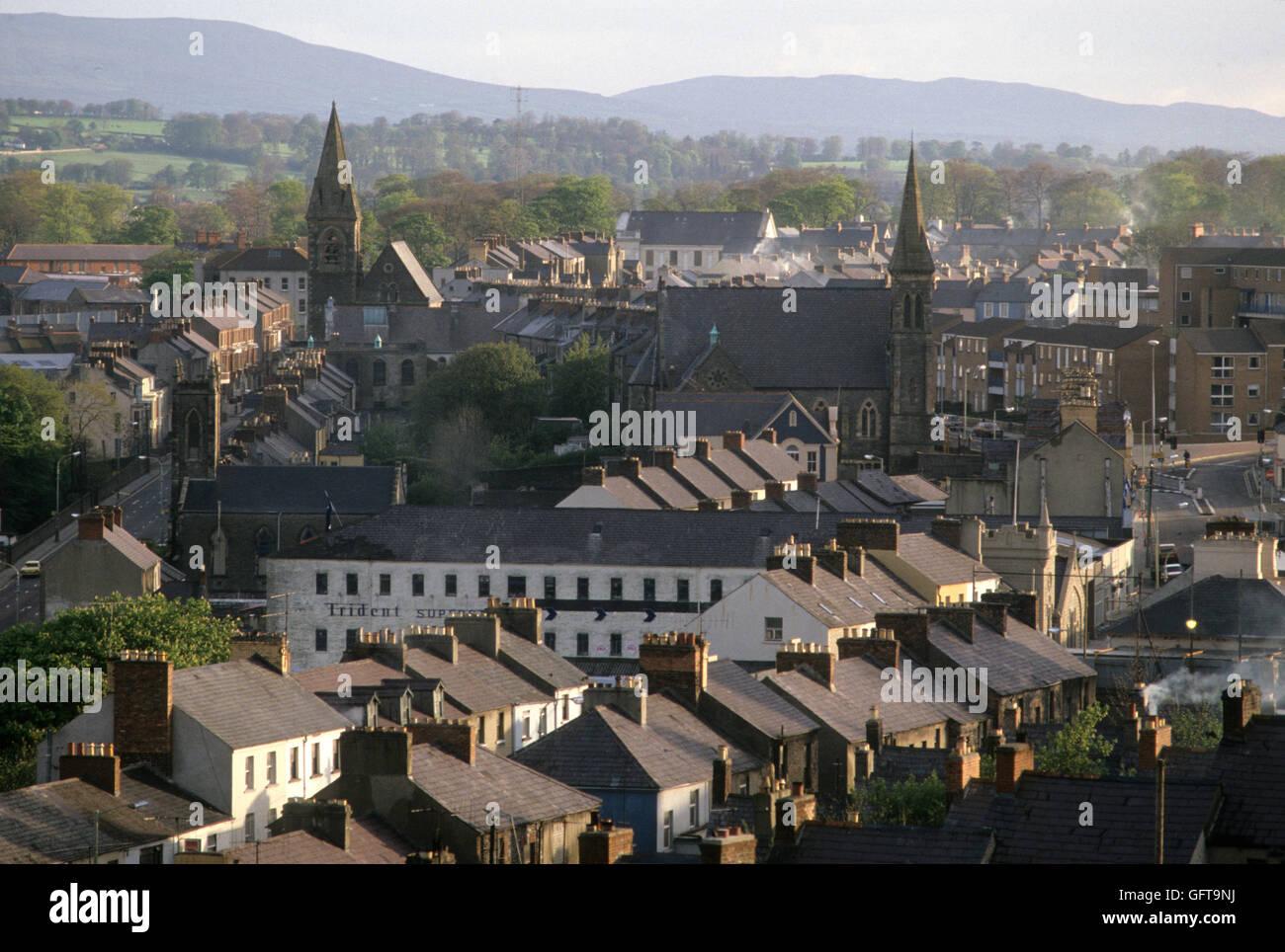 Derry Londonderry 1980 Homero SYKES Imagen De Stock