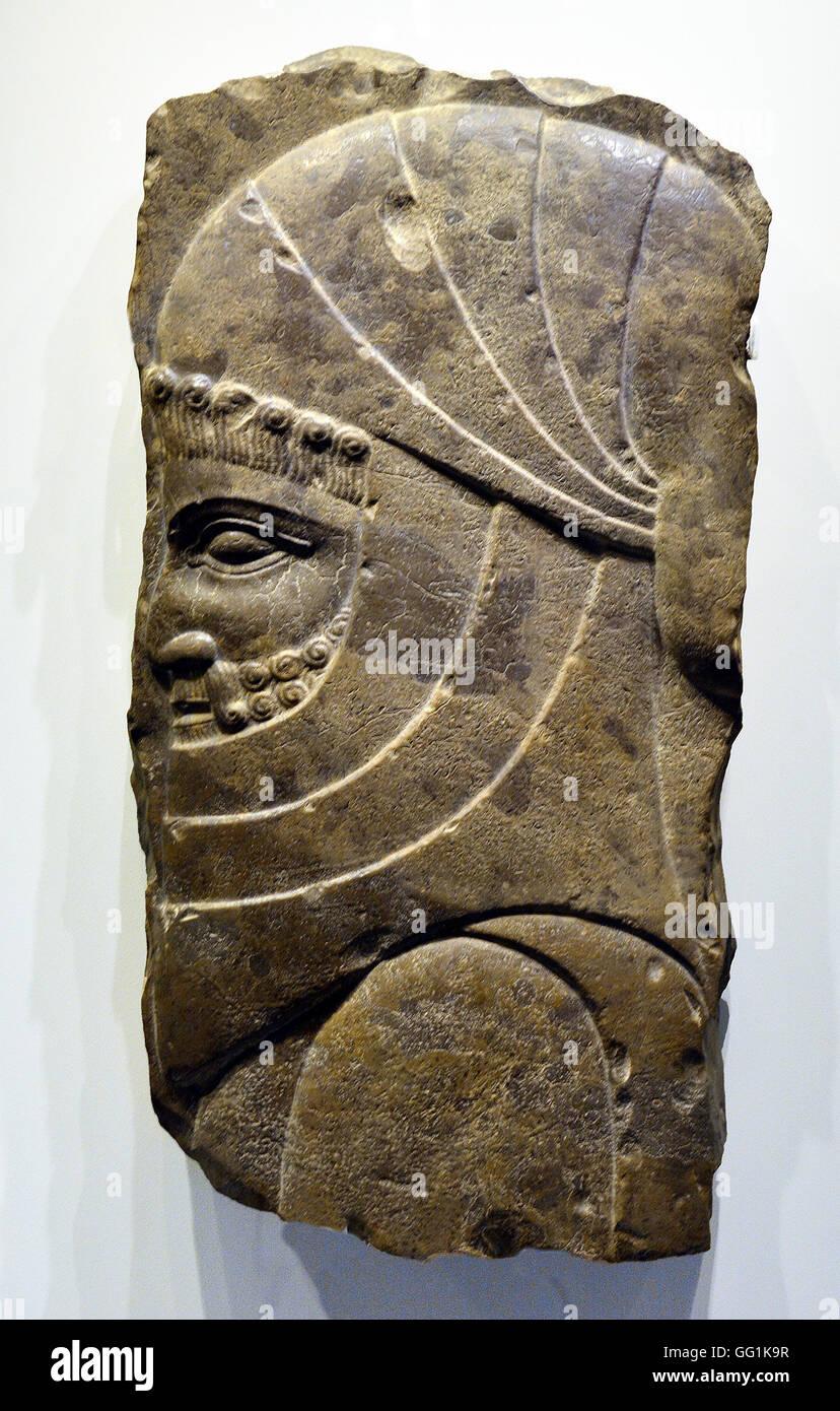 5925. Persa o sacerdote santo siervo, Persépolis, Irán (Persia), 5-4ª. C. BC. Imagen De Stock