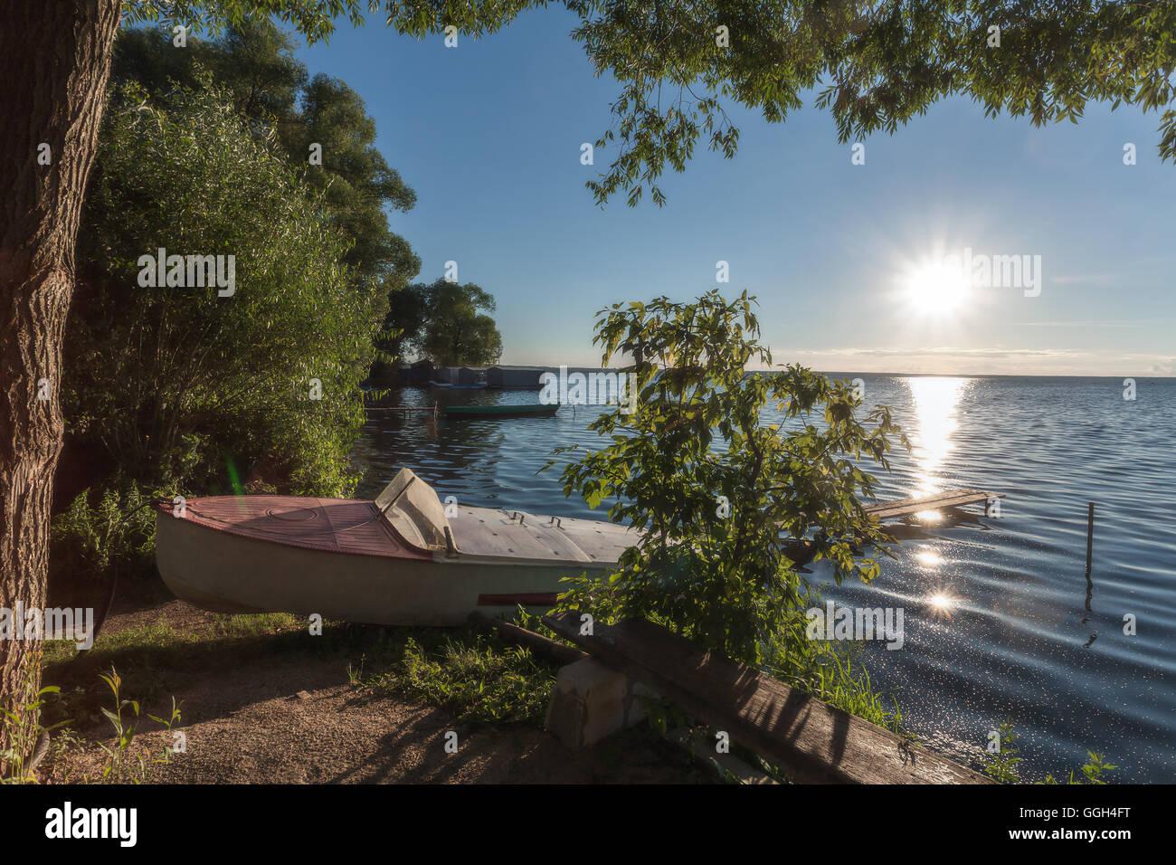 Quiet sunny beach Foto de stock