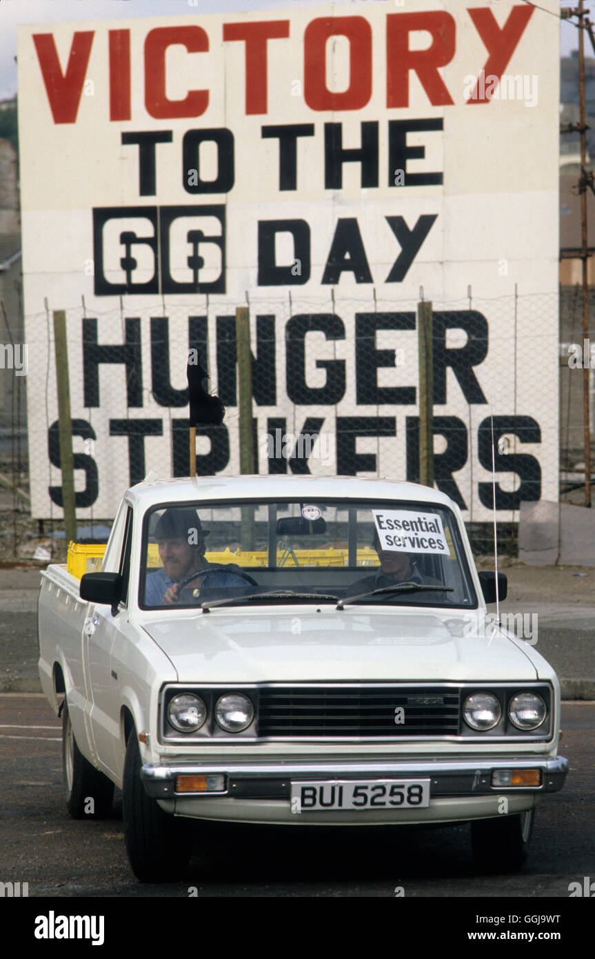 Los problemas Derry Londonderry Irlanda del Norte de 1981 Homero SYKES Imagen De Stock