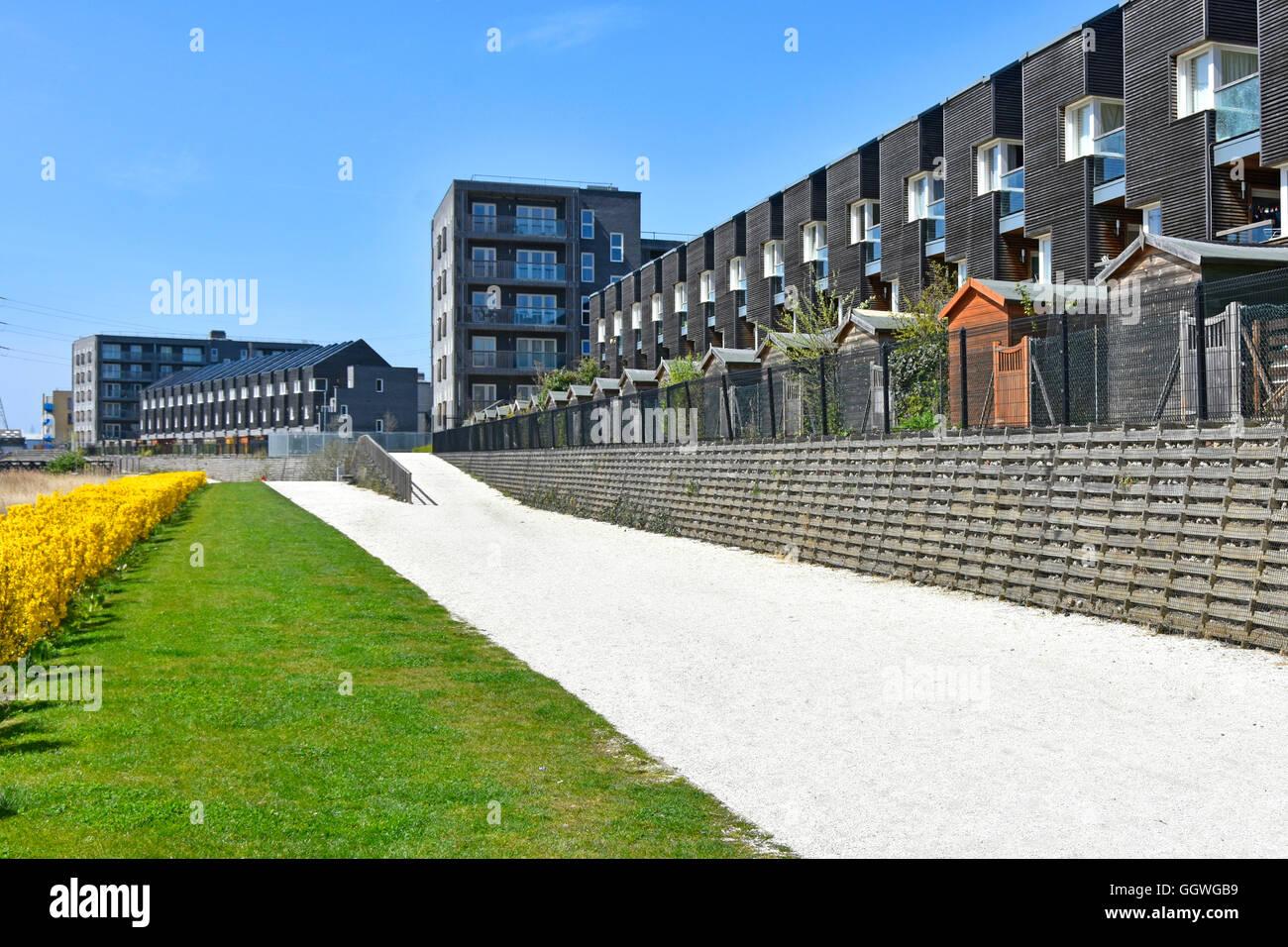 Alojamiento Moderno Con Terraza En El Nuevo Barking