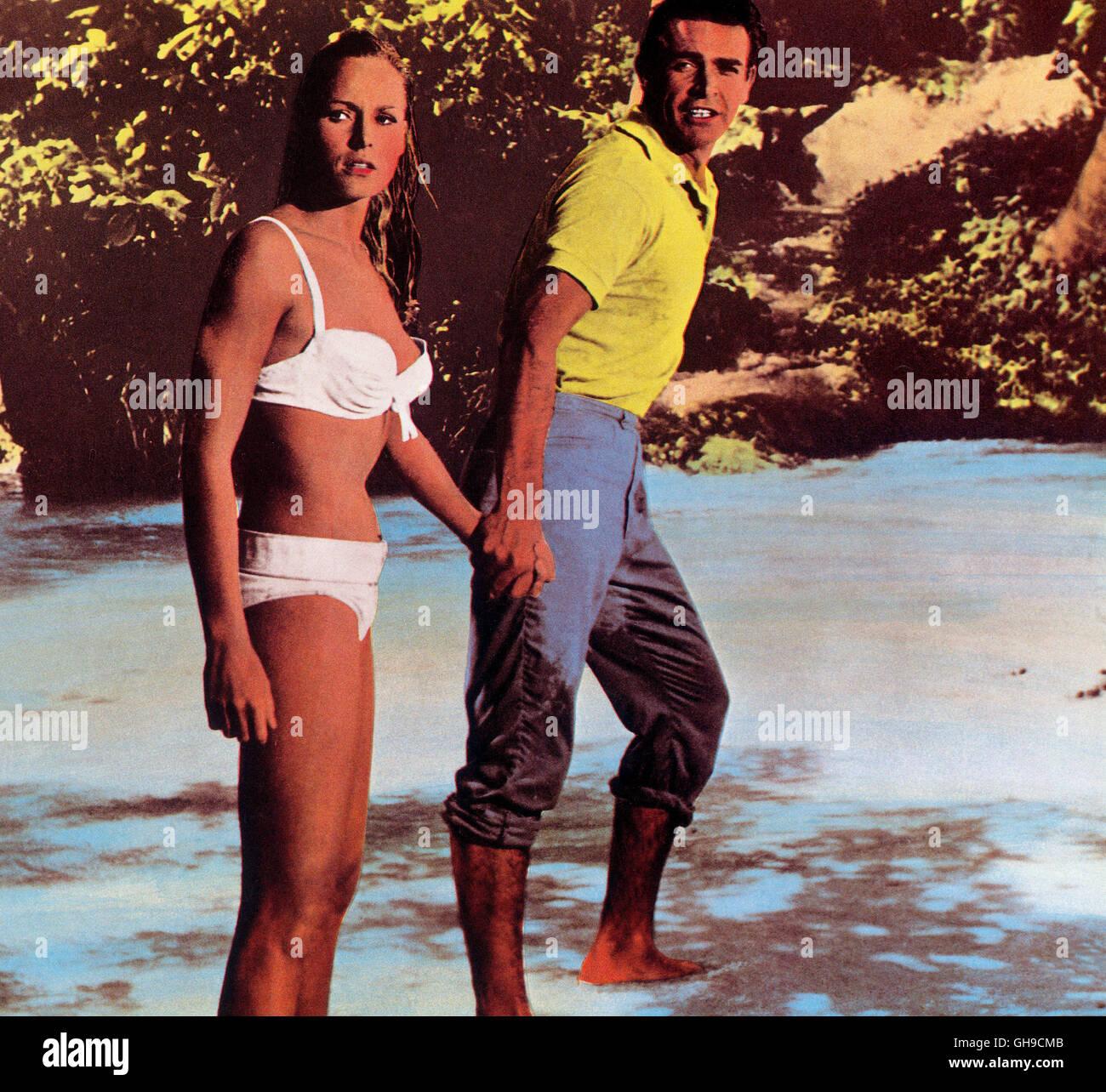 Im En Bond 'james Mit Ursula Andress Bikini Sean Connery Filmpartner QrdCBosxth