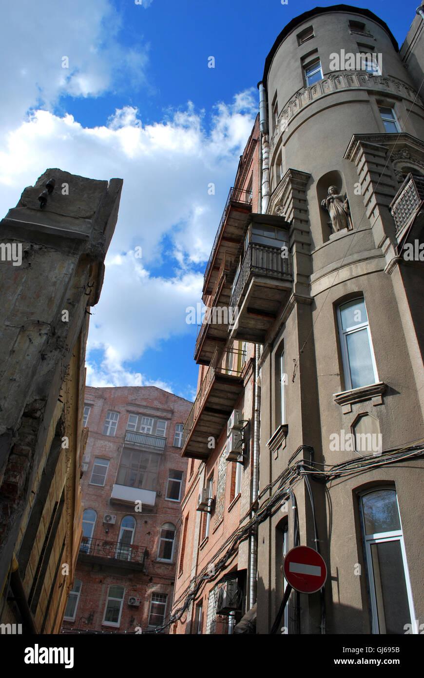 Ciudad vieja Foto de stock