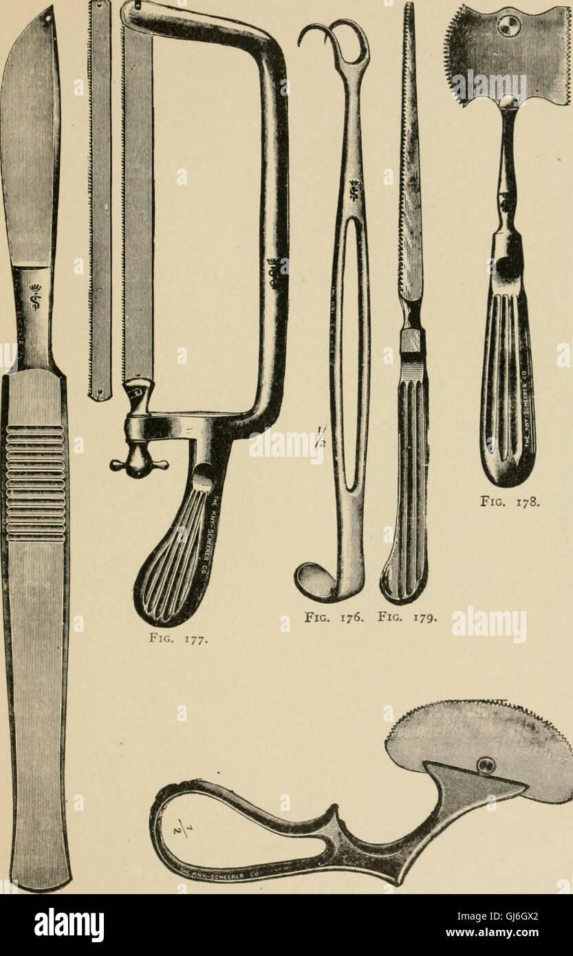 Un completo manual para las tropas sanitarias de la U. S. Ejército y marina (1917) Foto de stock