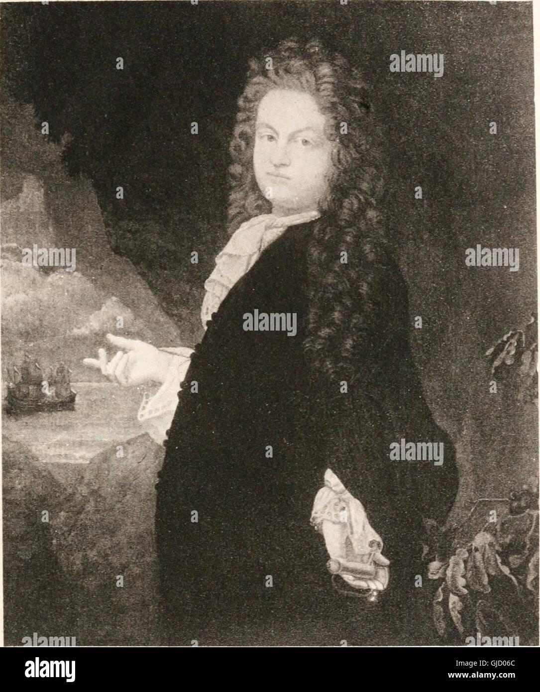 Los fundadores; retratos de personas nacidas en el extranjero que llegaron a las colonias en América del Norte antes del año 1701, con una introducción, Esbozos Biográficos y comentarios sobre los retratos (1921) Foto de stock