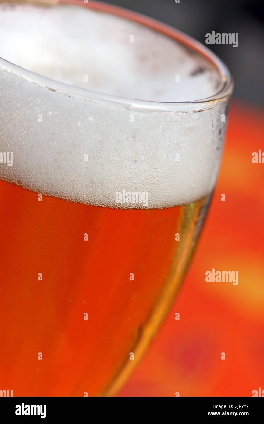 Ácido carbónico el requisito de pureza de la cerveza Imagen De Stock