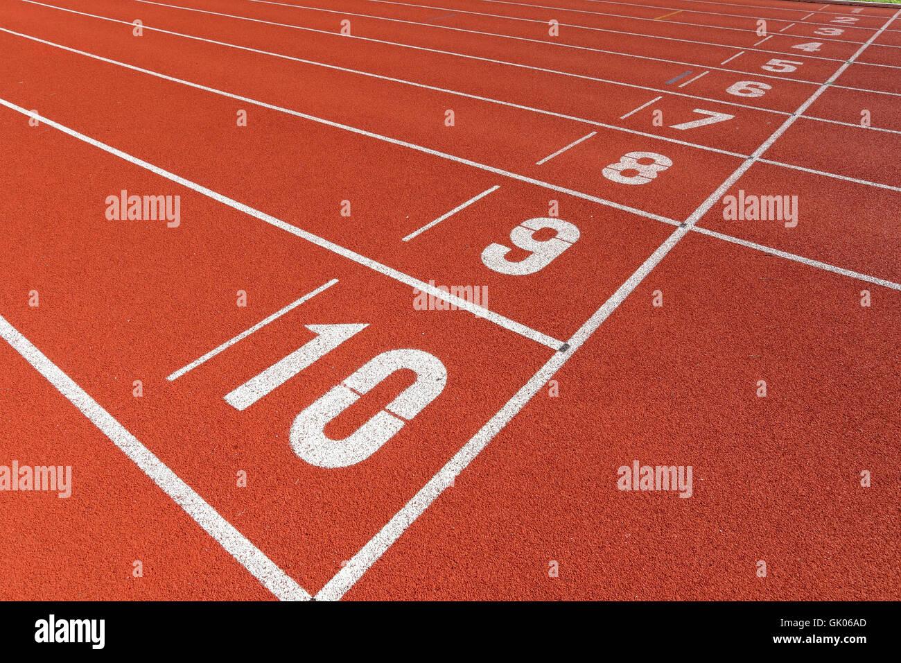 Campo de deportes deporte Imagen De Stock