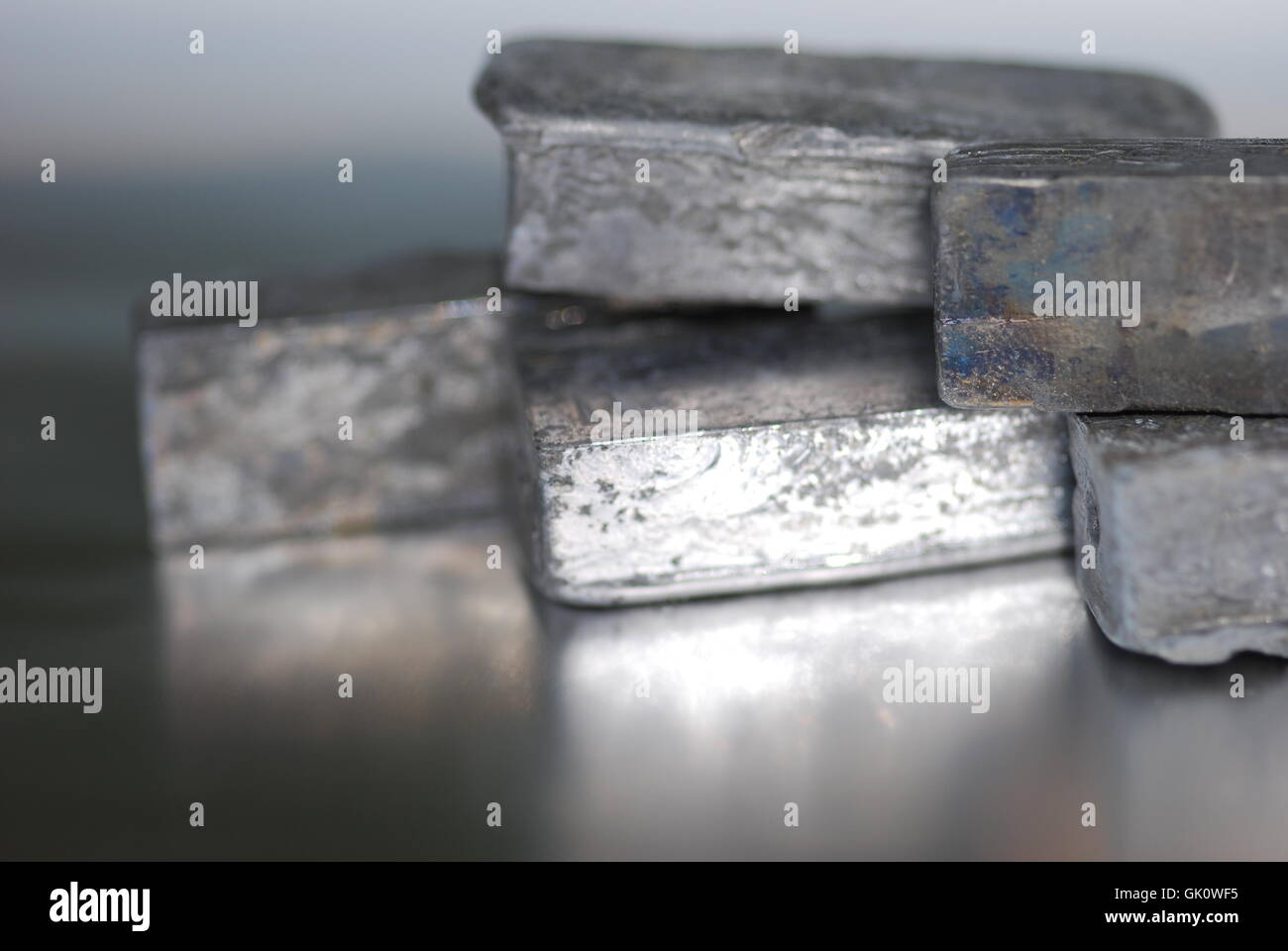 Plomo (Pb) plumbum heavy metal Imagen De Stock