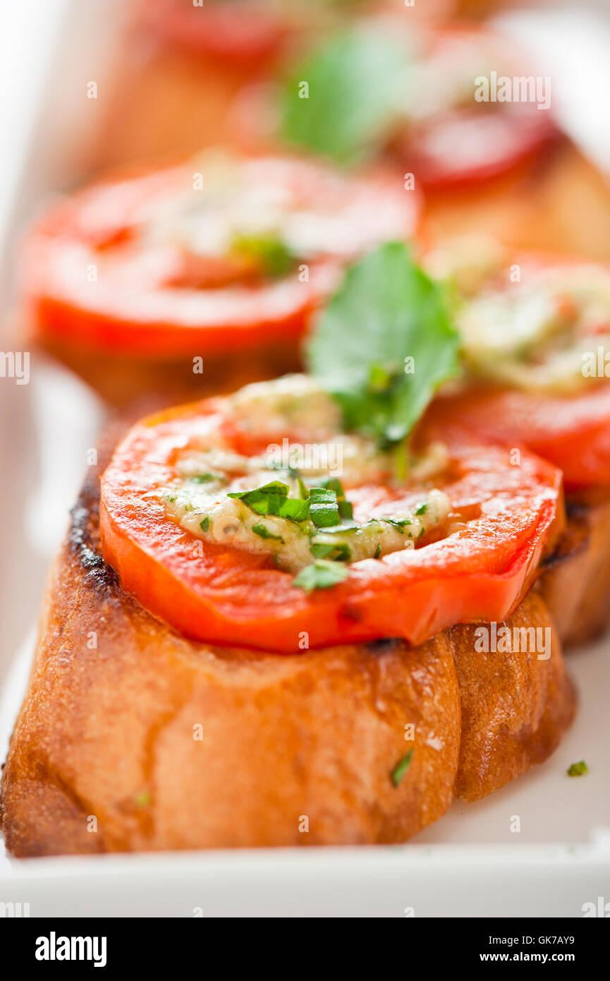 Alimento alimento italiano Imagen De Stock