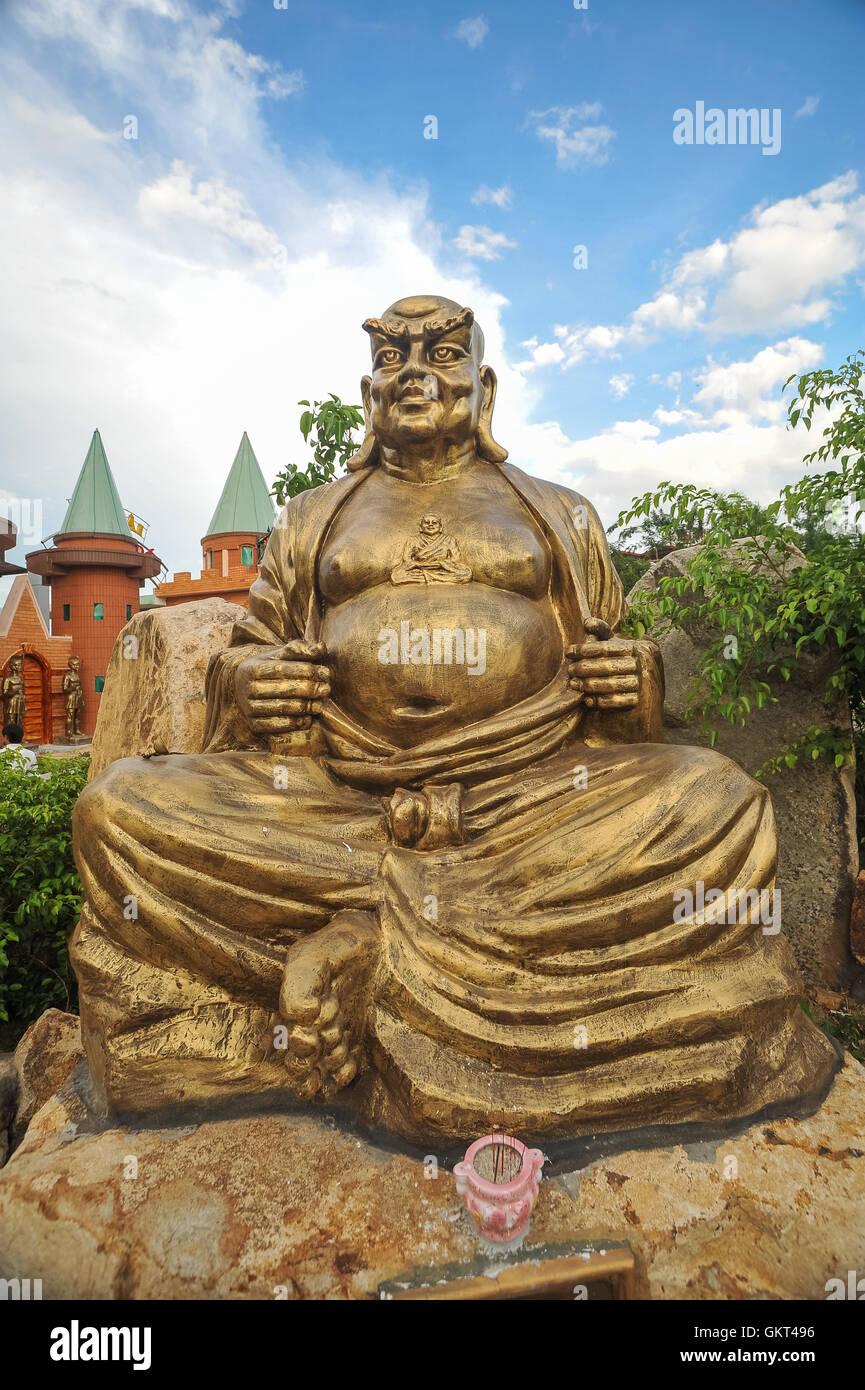 Estatua de Dios en Vung Tau Foto de stock