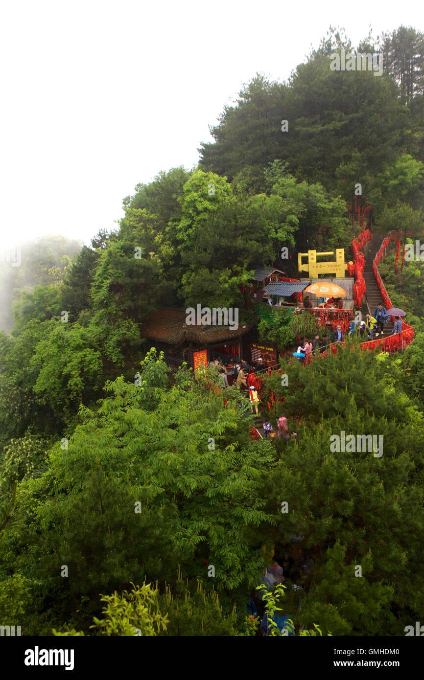 El Parque Nacional de Zhangjiajie, china de Hunan Foto de stock