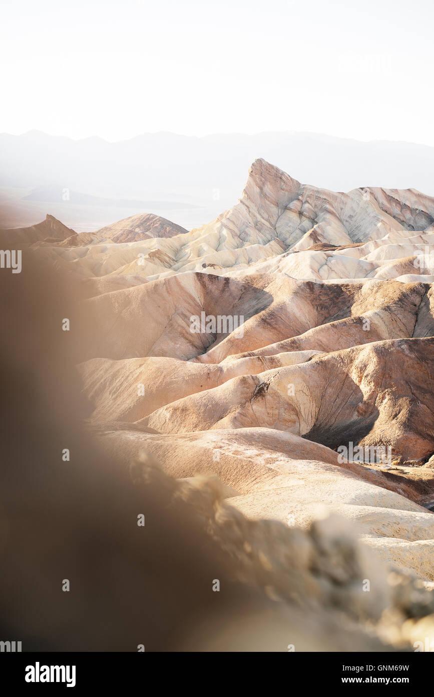 Zabriskie Point en el Parque Nacional de Zion Imagen De Stock