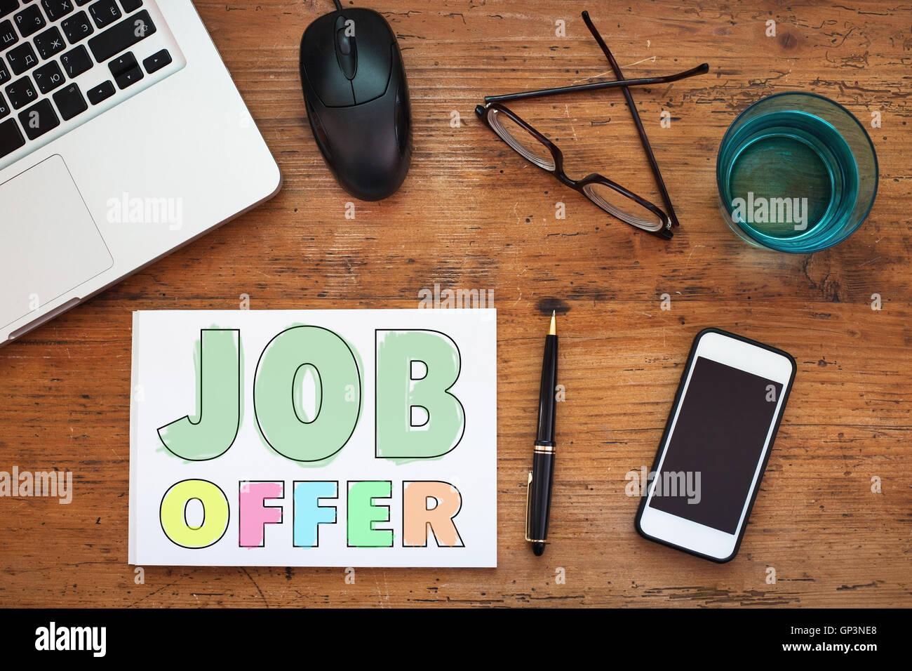 oferta de empleo Imagen De Stock