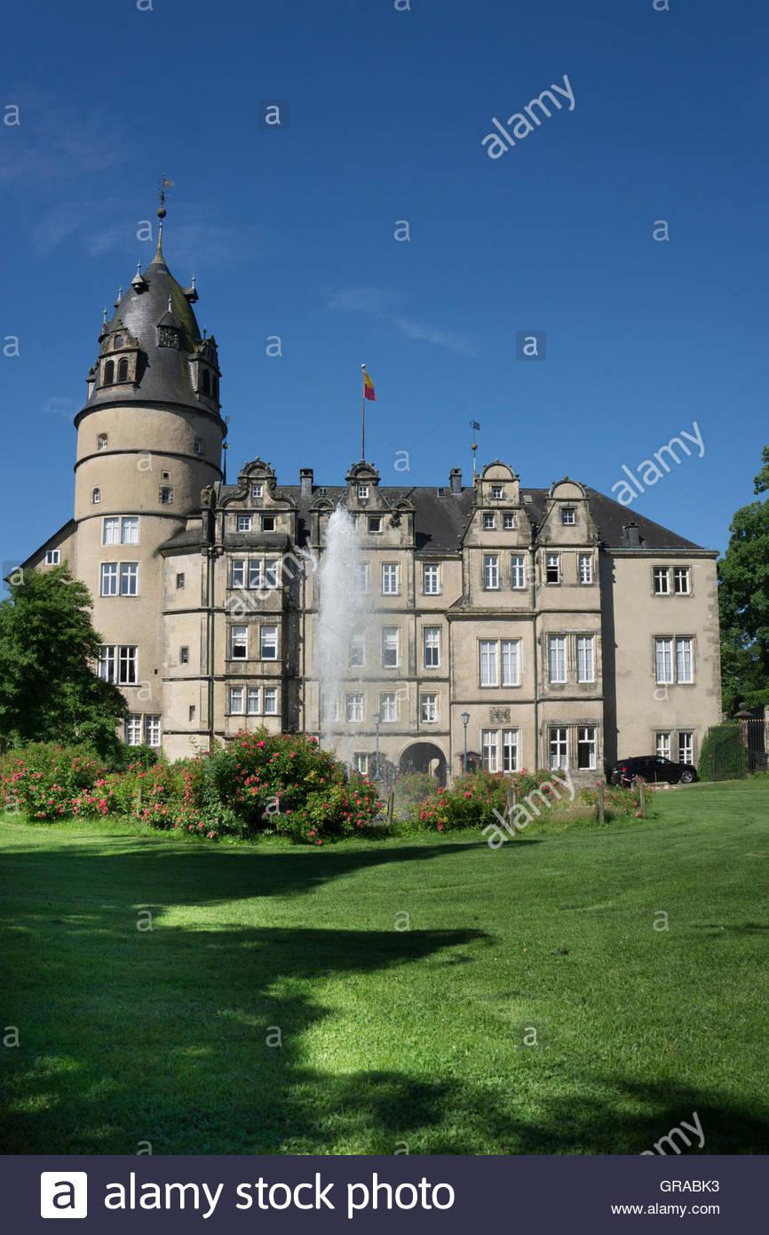 f rstliches residenzschloss castle detmold ostwestfalen