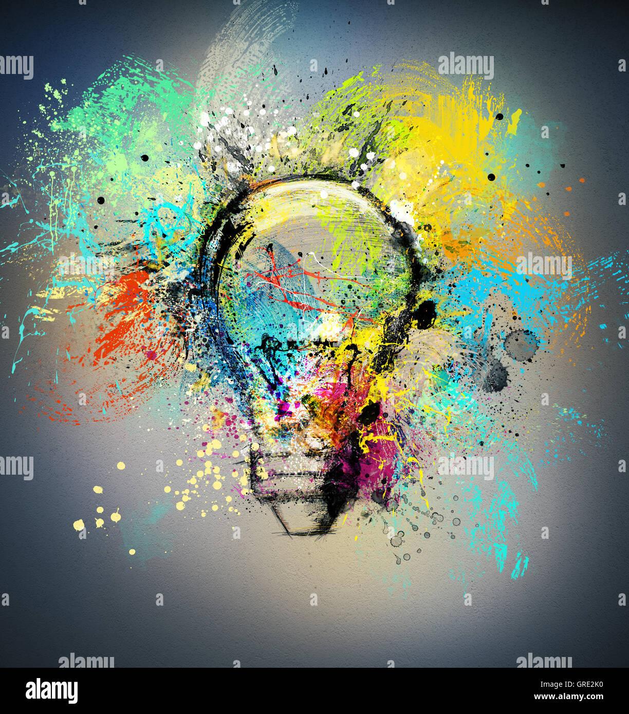 Nueva idea creativa Imagen De Stock