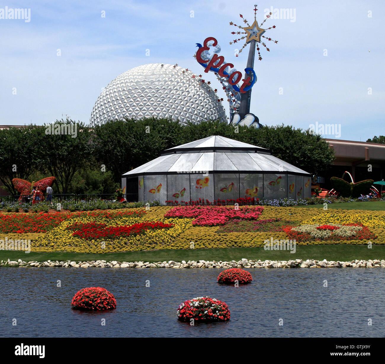 Orlando Florida El 21 De Mayo De 2007 Las Flores Y La