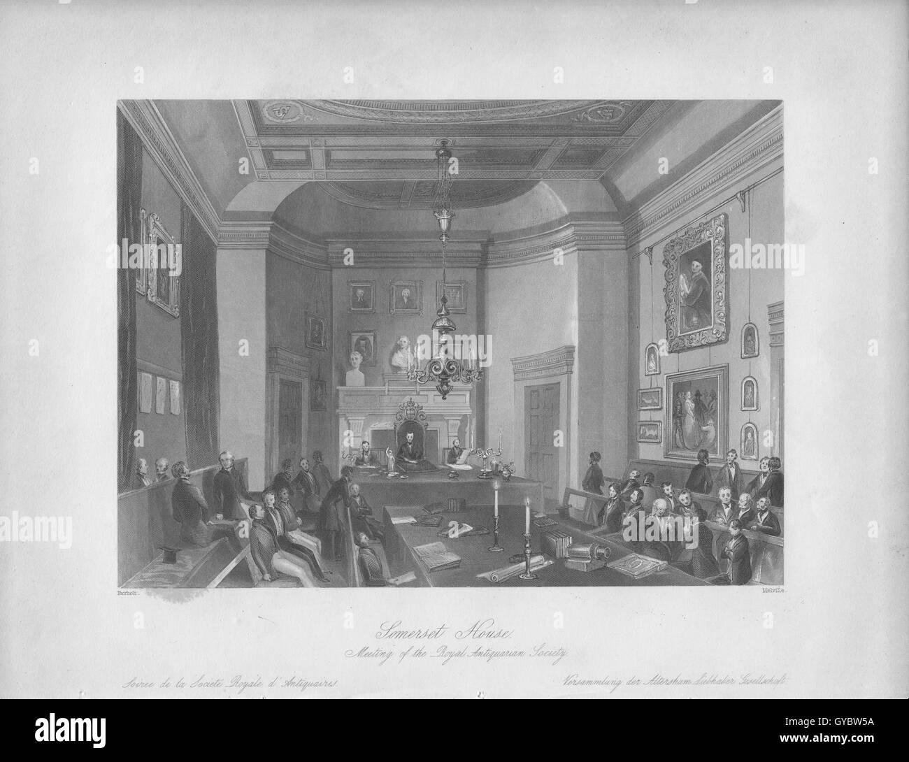 Somerset House Imagen De Stock
