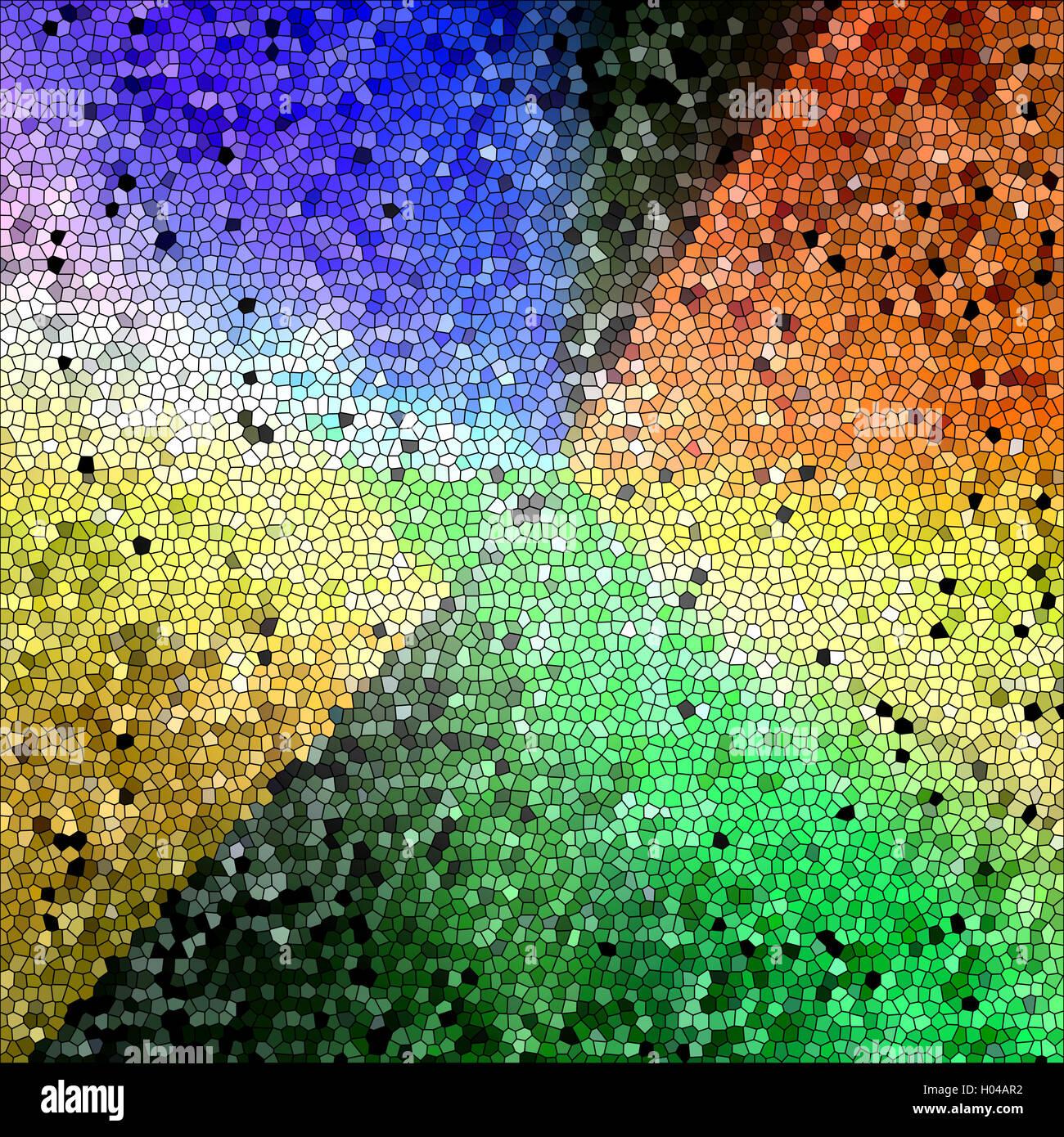 Colorear fondo abstracto de colores tropicales degradados con ...