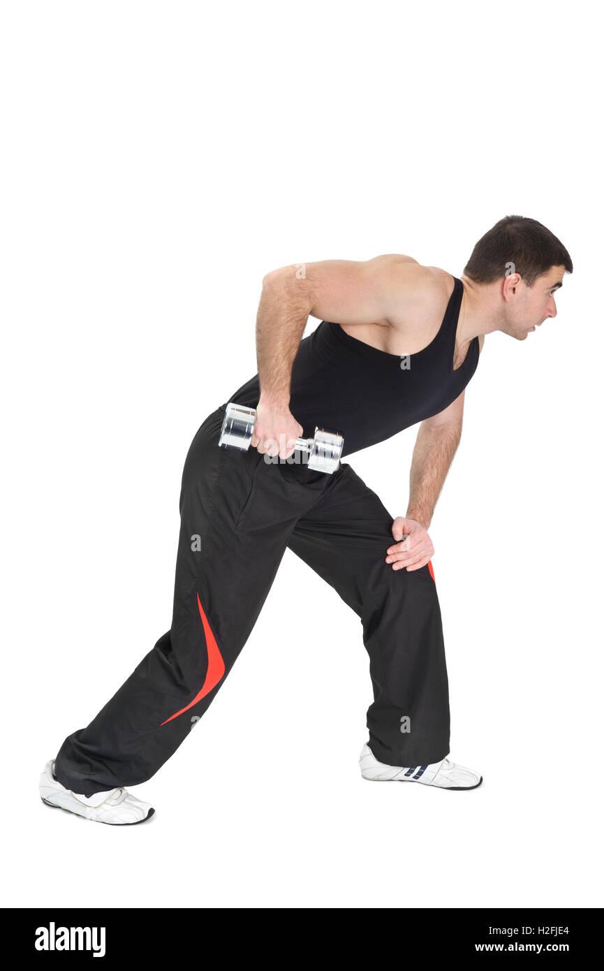 Triceps Extensions Imágenes De Stock & Triceps Extensions Fotos De ...