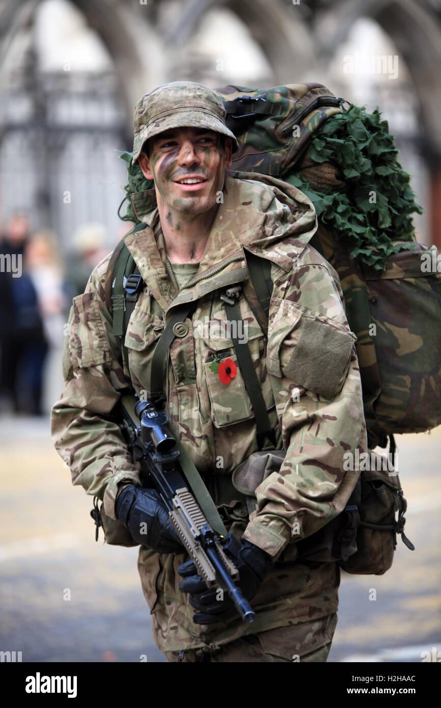 Miembro de la Honorable Compañía de artillería al señor alcalde, la Feria de Londres, Reino Imagen De Stock