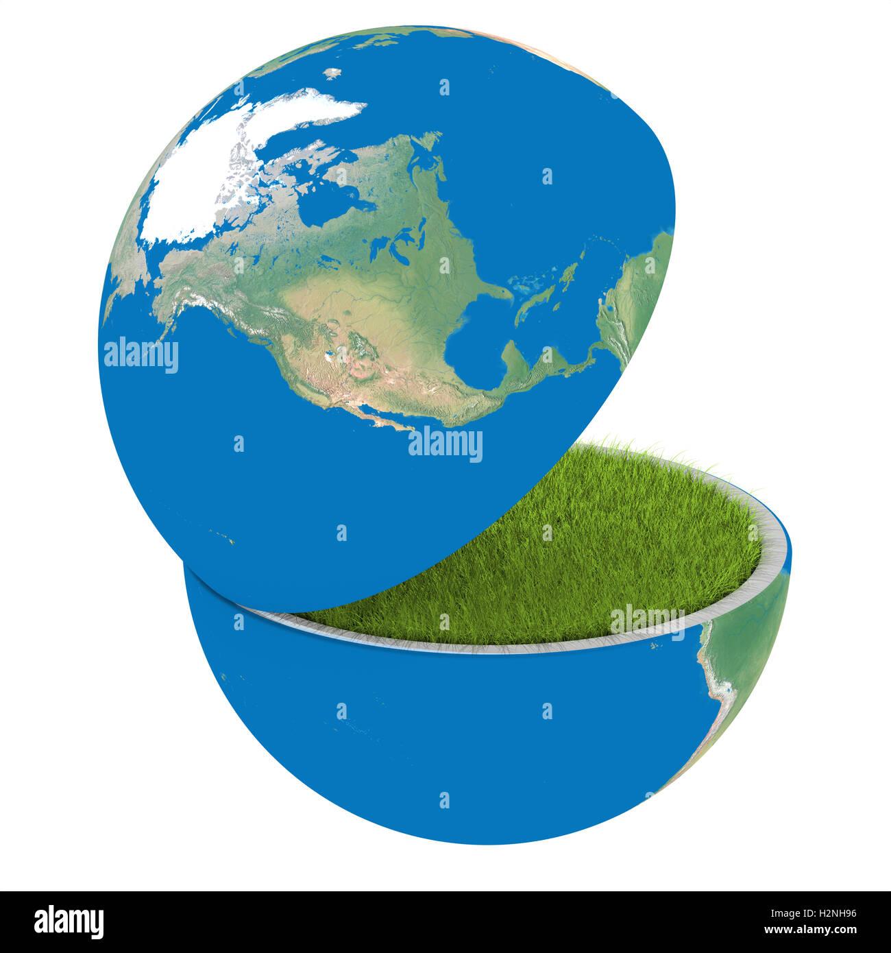 Planeta de apertura Imagen De Stock