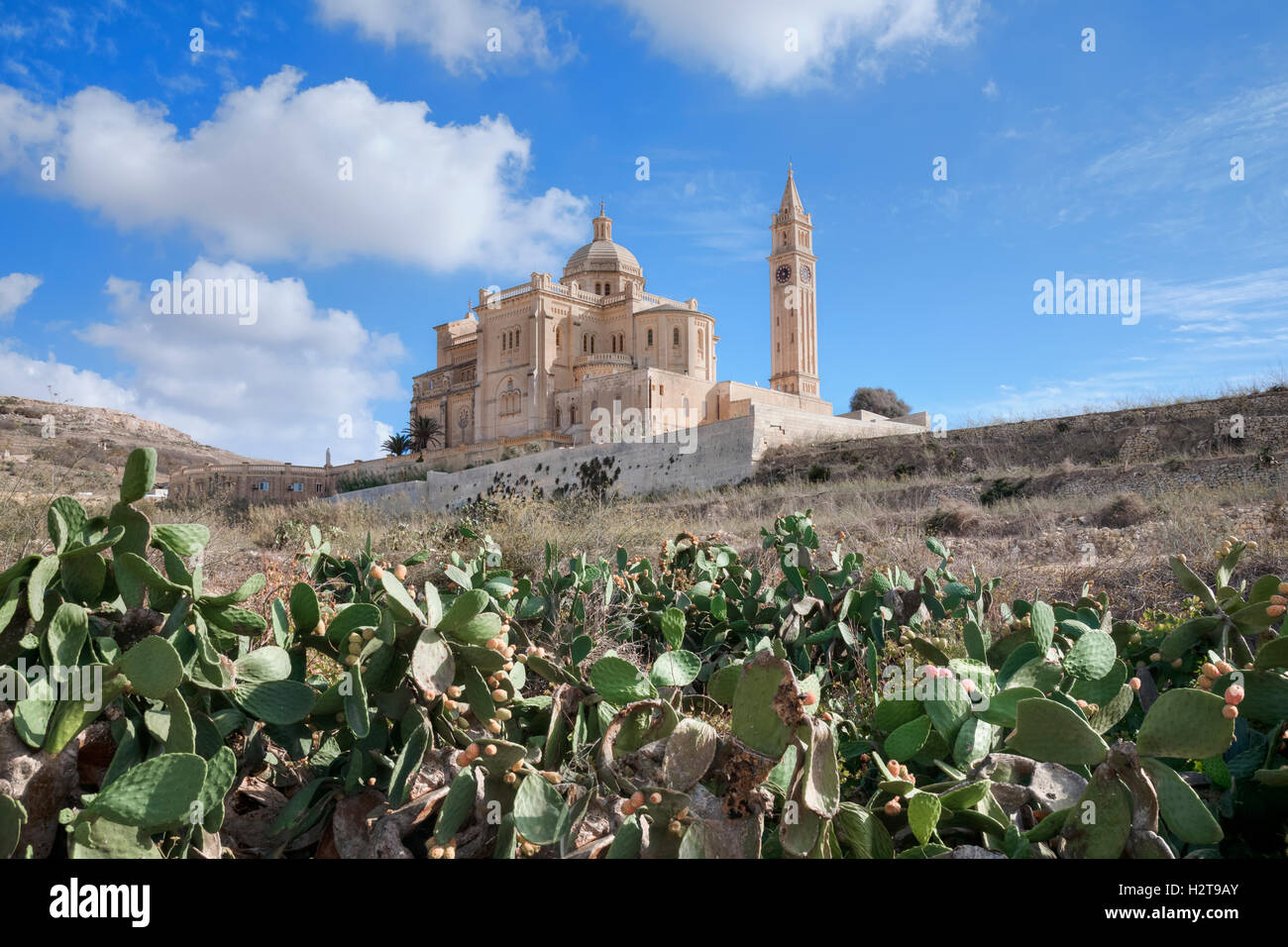 Basílica de Ta Pinu, Gharb, Gozo, Malta Imagen De Stock