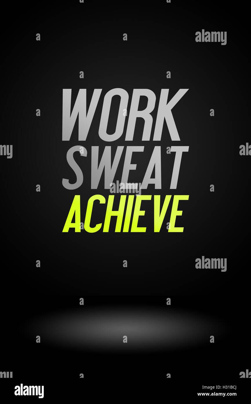 Entrenamiento Fitness Deporte Publicidad Quote Trabajo
