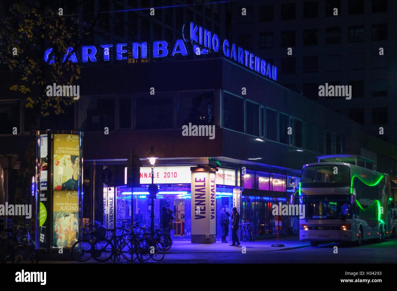 Wien, Viena: cine Gartenbau durante la Viennale, 01, Wien, Austria Imagen De Stock