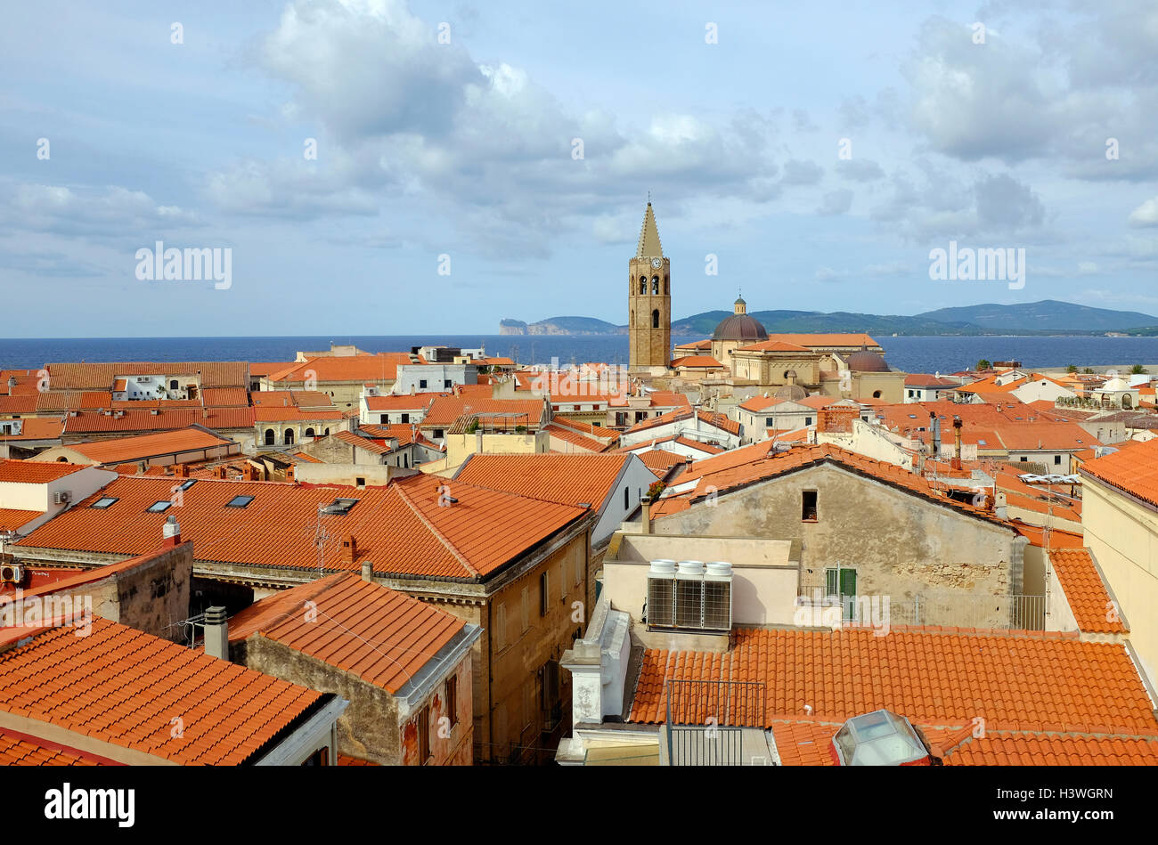 Alghero (Cerdeña, Italia) Foto de stock