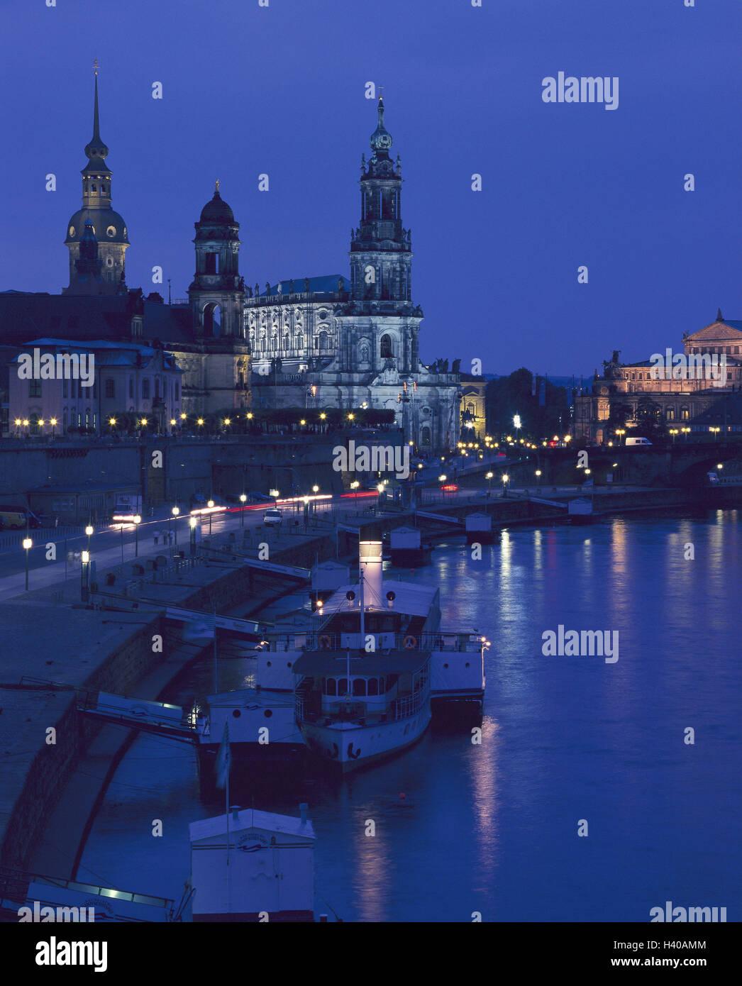 Alemania En El Estado Federado De Sajonia Dresden Vista