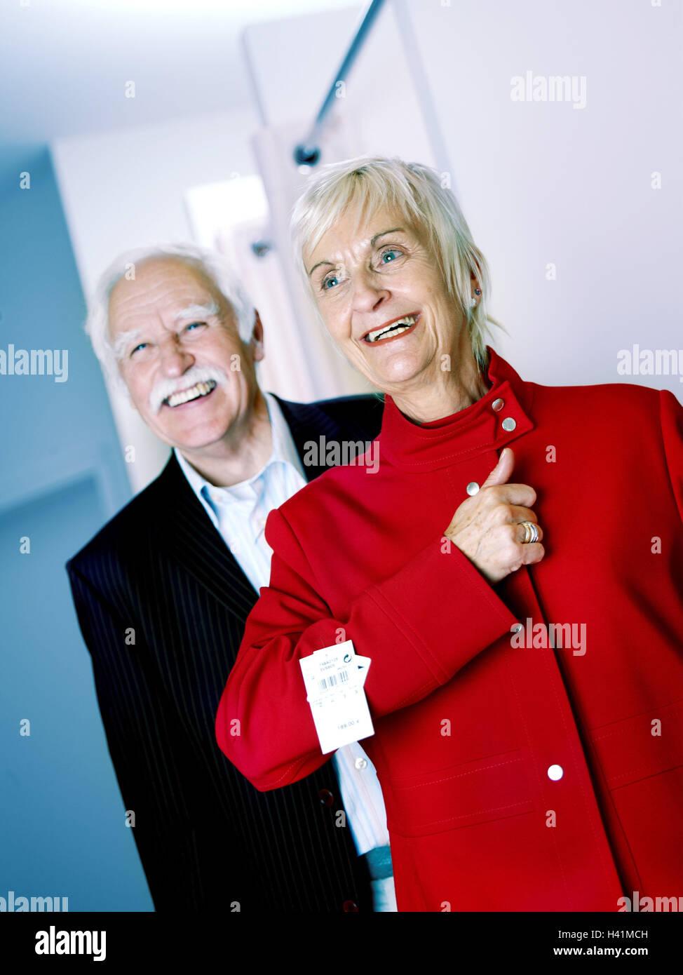 Compras Mujer Roja Ancianas Chaqueta De Parejas Tour Boutique 4P1ww