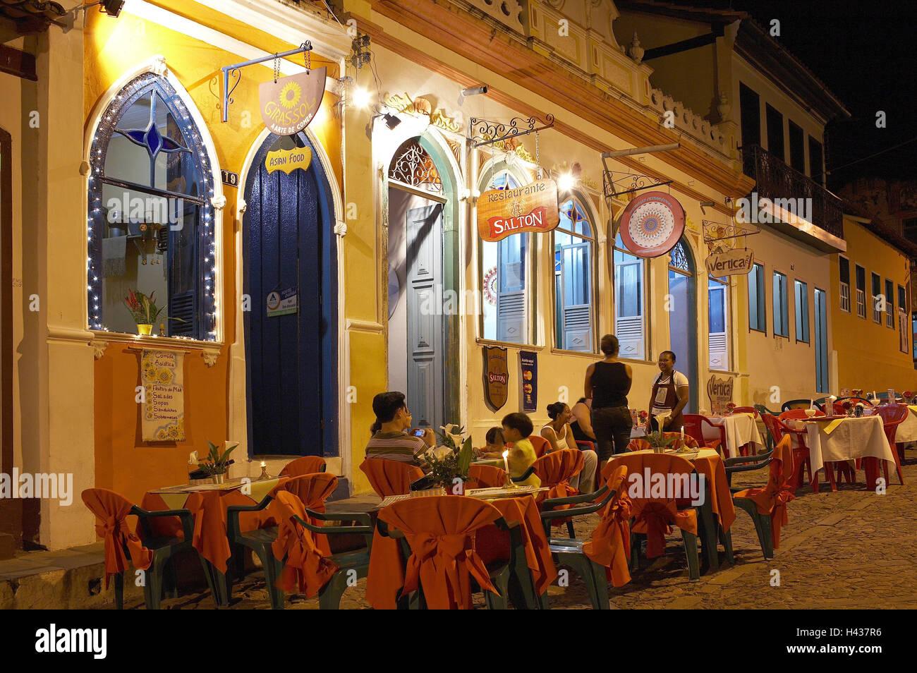 Brasil Bahia Lencois La Plaza Del Ayuntamiento Terraza