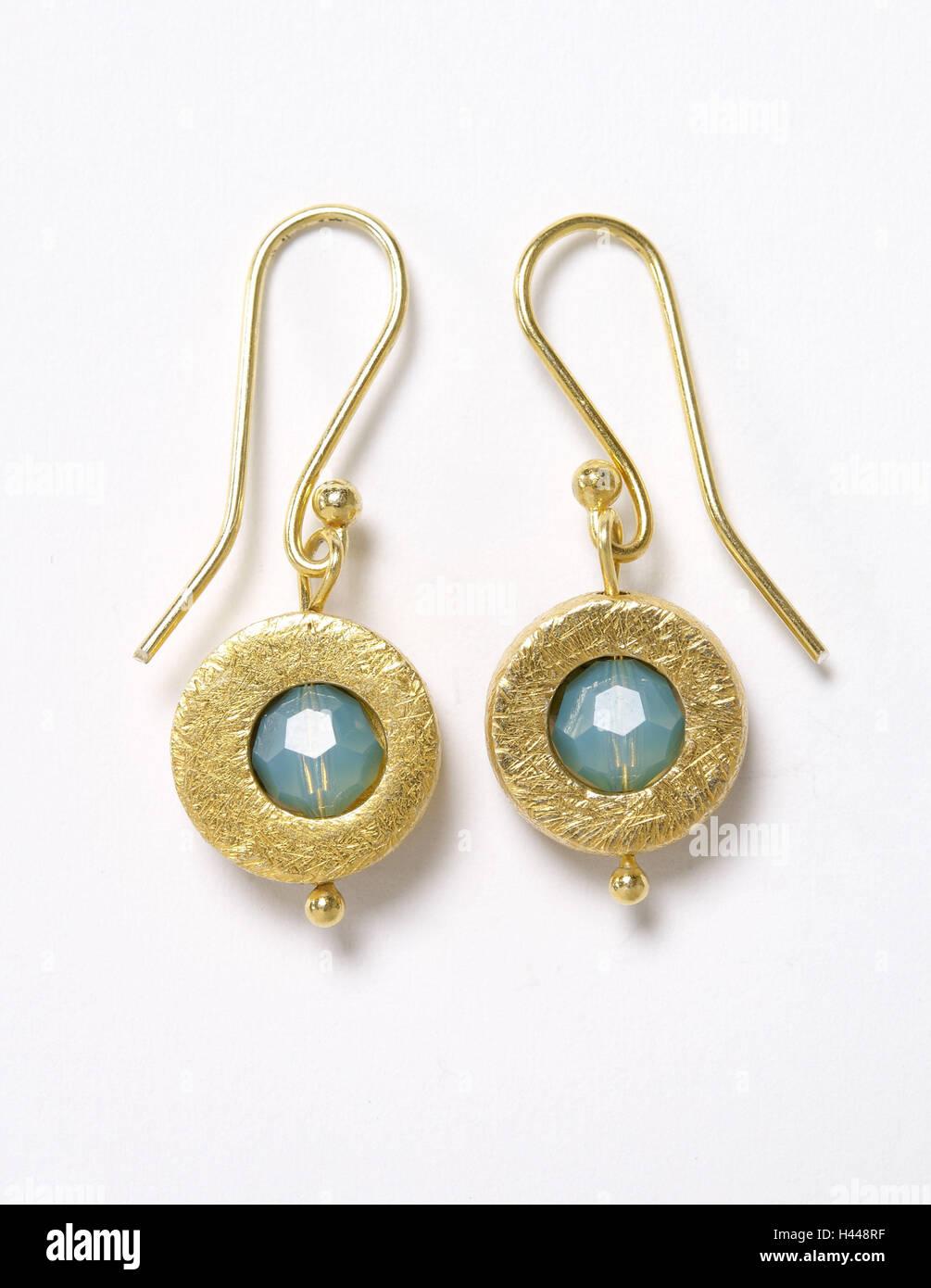 86cd22d75dff Turquoise Earrings Imágenes De Stock   Turquoise Earrings Fotos De ...