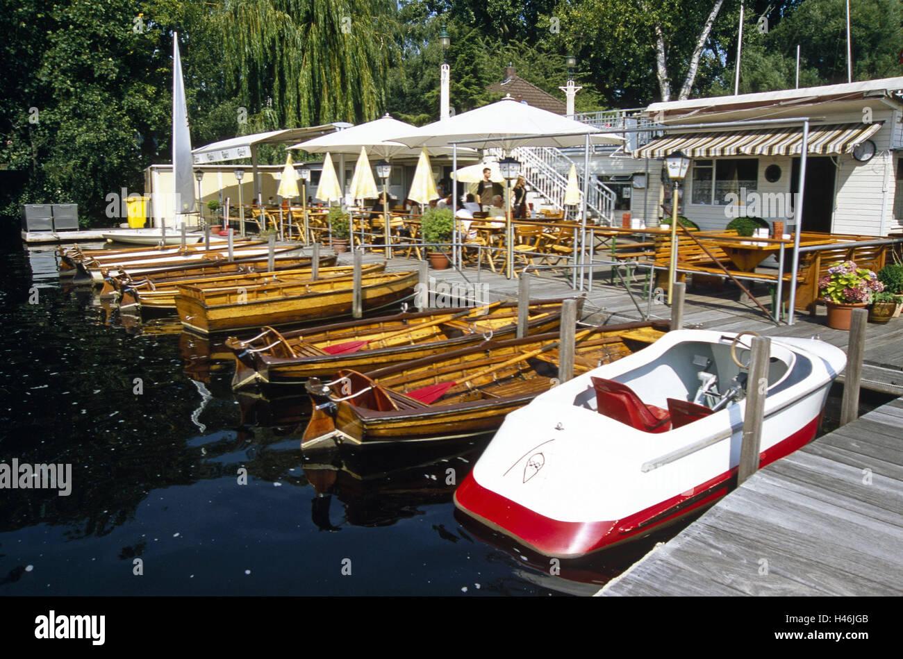 Alemania Hamburgo Rotherbaum Oar Botas Bodo S Landing