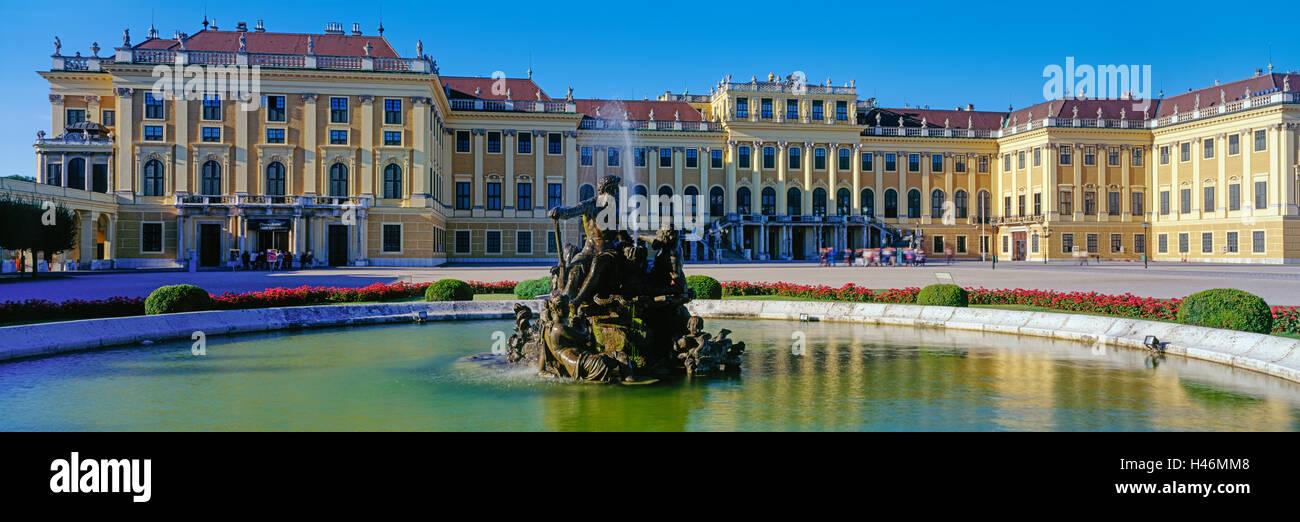 El Palacio de Schönbrunn, Viena, Austria Imagen De Stock