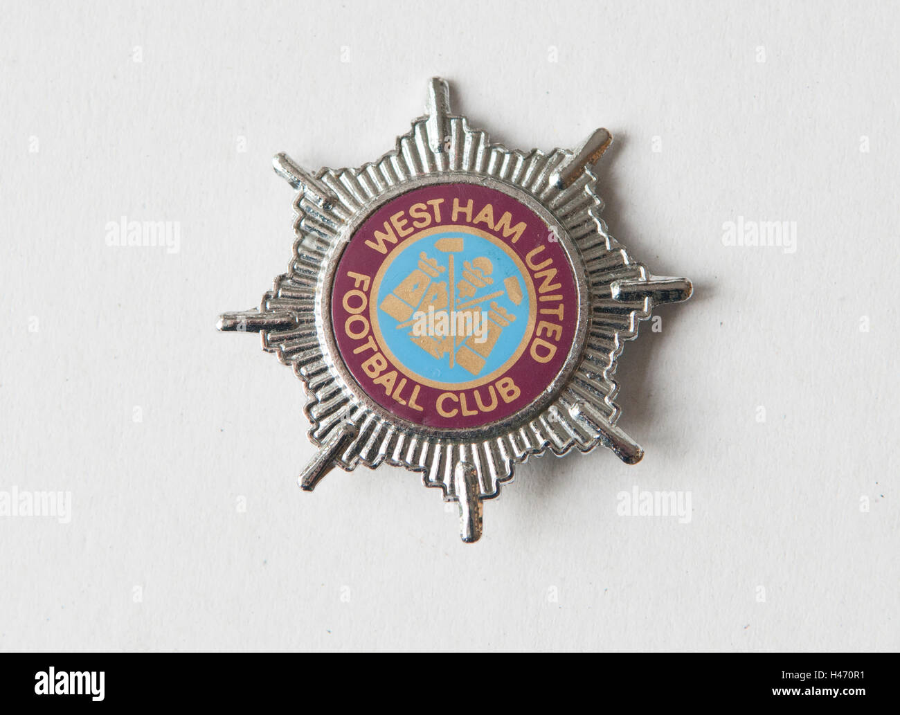 Westham United Football Club badge HOMER SYKES Imagen De Stock