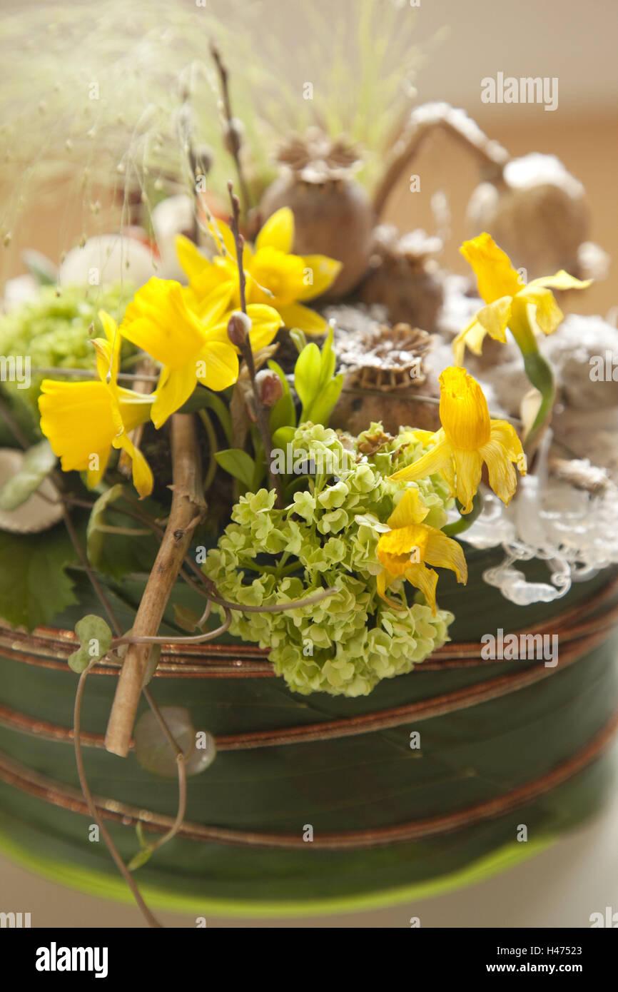 El canasto arreglos florales decoraci n interior arreglos florales flores flores secas - Plantas secas decoracion ...