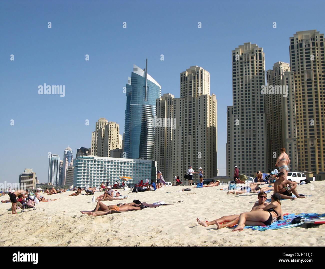 Los emiratos rabes unidos dubai jumeirah beach for Edificio movil en dubai