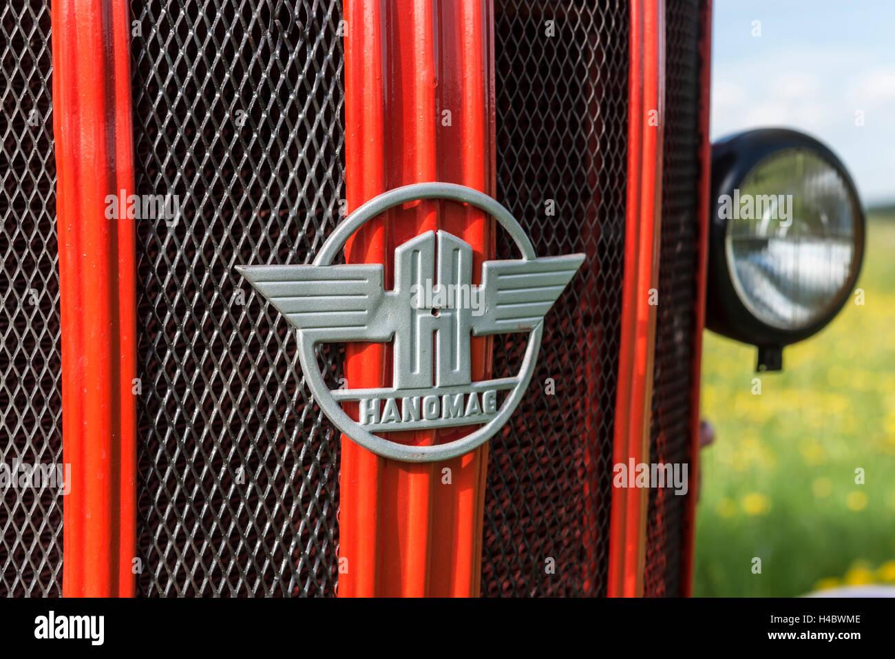 Hanomag R 217 Página, año de fabricación 1959, detalle Imagen De Stock