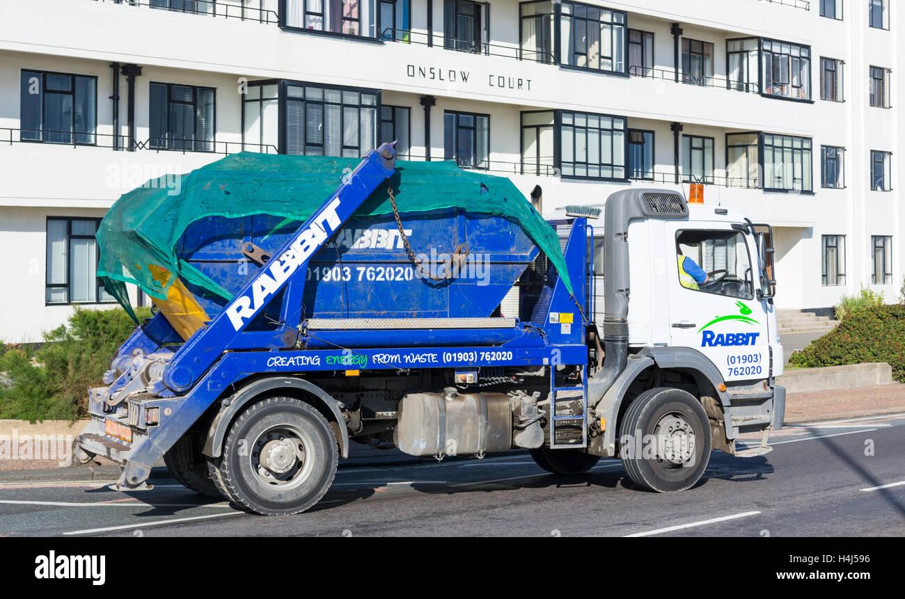 Conejo salte transporter truck. Imagen De Stock
