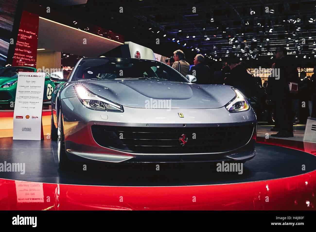 Ferrari Gtc15 Lusso Fotos e Imágenes de stock - Alamy