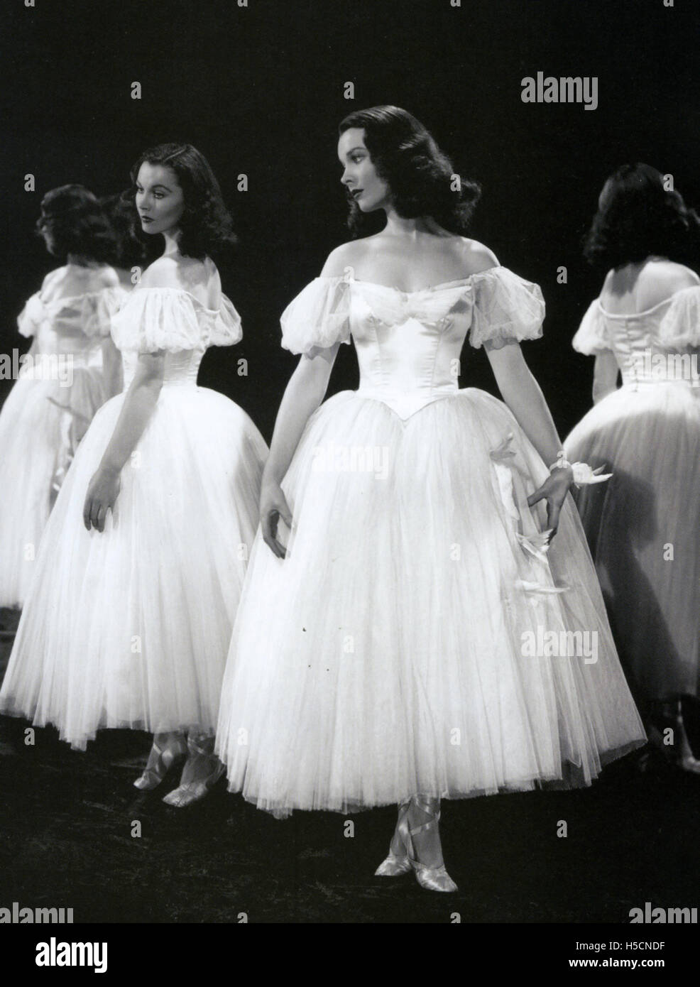 WATERLOO BRIDGE de 1940 películas de MGM con Vivien Leigh Imagen De Stock