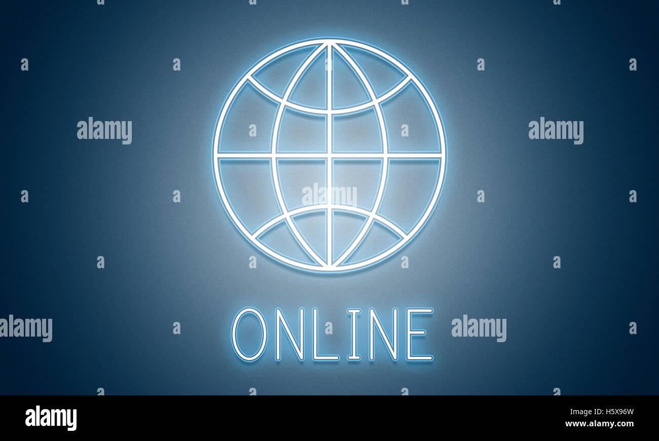 Página HTTP Internet Online Concepto Imagen De Stock