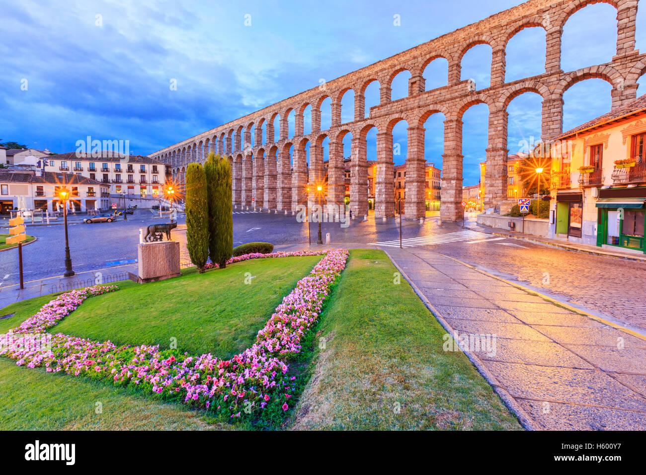 Segovia, España. Imagen De Stock